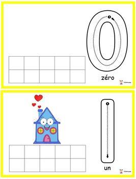 Petite maison s'ennuie: chiffres 0 à 10