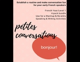 Petites Conversations en Français (Levels 1-2)