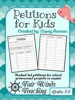 Petitions for Kids
