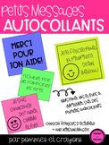 Petits messages autocollants