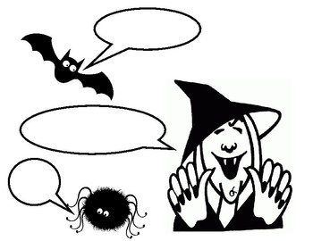 "Petrifying Punctuation : Halloween-themed  ""Dialogue Worksheet"""