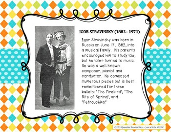 Petrouchka--a ballet by Igor Stravinsky