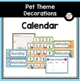 Calendar Numbers (Pet-Themed Classroom Decor)