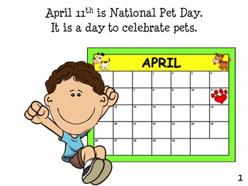 Pets: NATIONAL PET DAY