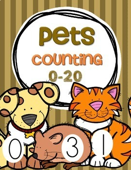 Pets Counting 0-20 FREE