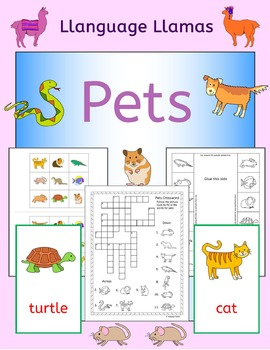 Pets - English - ESL, EAL, EFL