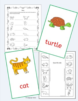 Pets - English - ESL, EAL, EFL
