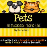 Pets Theme Unit