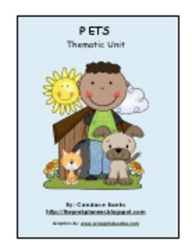 Pets: Fun Lessons to Teach Children About Pets (83 pages)