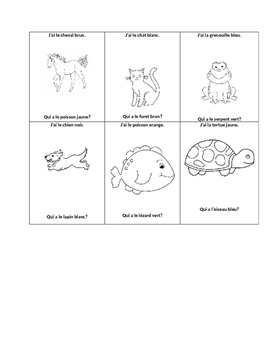 Pets- A basic French Unit