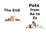 Pets A to Z Book Real Photos