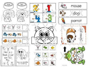 Pets Activity Jumbo Pack