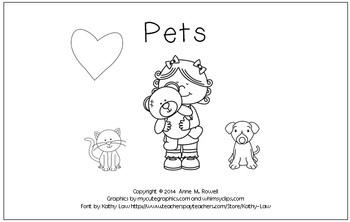 Pets - An Emergent Reader