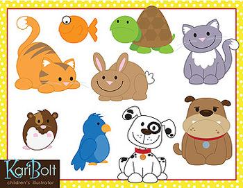 pets animal clip art by kari bolt clip art teachers pay teachers rh teacherspayteachers com pet clipart black and white pet clipart black and white