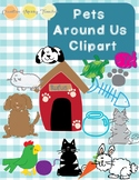 Pets Around Us Clipart