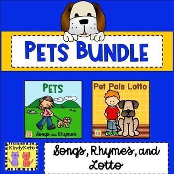 Pets BUNDLE: Songs & Rhymes + Lotto