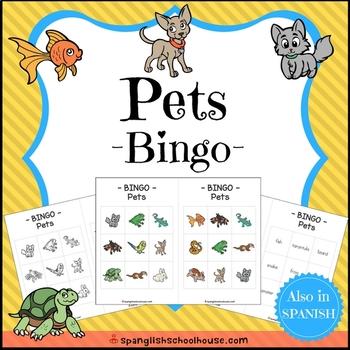Pets Bingo