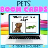 Pets Boom Cards - Distance Learning