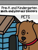 Pets Centers and Activities for Pre-K/Kindergarten