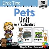 Pets Circle Time Unit