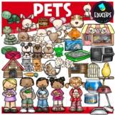 Pets Clip Art Set {Educlips Clipart}