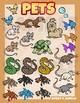 Pets Clip art collection