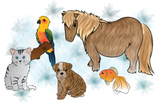 Pets Clipart - Free Resource