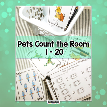 Pets Count the Room 1-20