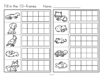 Pets Count the Room Differentiated Center for Preschool and Pre-K