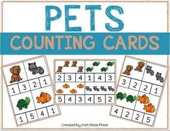 Pets Counting Cards