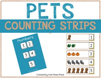 Pets Counting Strips