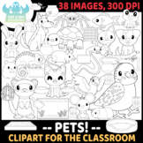 Pets Digital Stamps (Lime and Kiwi Designs)