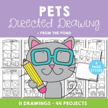 Pets Directed Drawings Fun Drawing And Art Projects By From The Pond