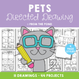 Pets Directed Drawings {Fun Drawing and Art Projects}