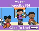 Pets Distance Learning Interactive PDFs