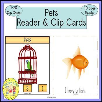 Pets Emergent Reader