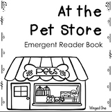 Pets Emergent Reader Books