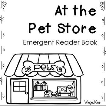 Pets Emergent Reader Books