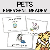 Pets Emergent Reader Mini Book