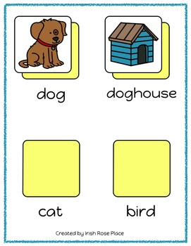 Pets Language File Folders