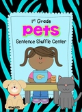 Fluency 1st Grade Sentence Shuffle