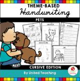 Pets Handwriting Lessons (Cursive Edition)