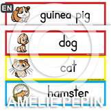 Pets Illustrated Word Wall (30)