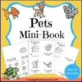 Pets Interactive Mini-Book