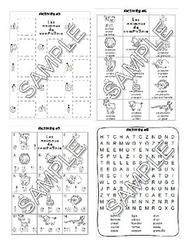 pets les animaux de compagnie french worksheets and games pack. Black Bedroom Furniture Sets. Home Design Ideas