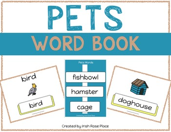 Pets Leveled Word Books (Adapted Books)