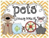 Pets Literacy & Math