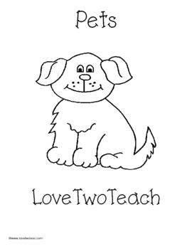 Pets:  Literacy and Math Fun