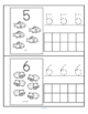 Pets Little Number Book - Counting, Tracing, Recognition