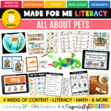 Pets (Made For Me Literacy: Level B, Bundle 2)